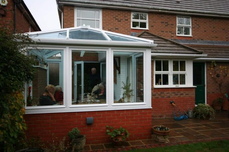 Conservatory Built In Unused Corner Andover Test Valley
