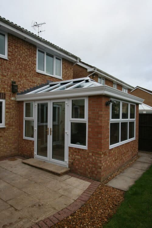 Conversion of Conservatory to Livin Room - Test Valley Windows