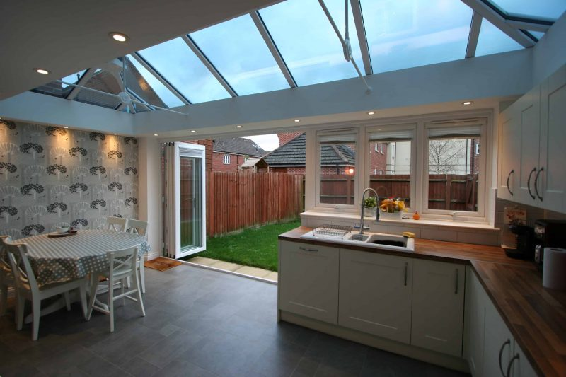 Conservatory Kitchen Dining Room Extension