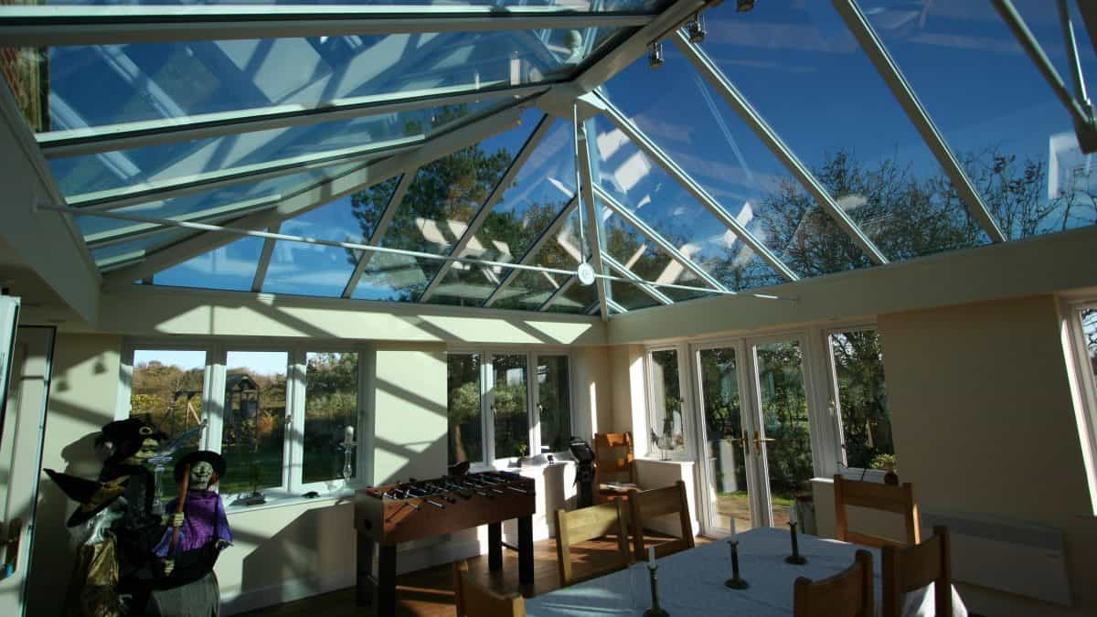 Livin Room Orangery Andover Hampshire at Halloween 1