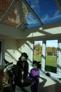 Livin Room Orangery Andover Hampshire at Halloween 2